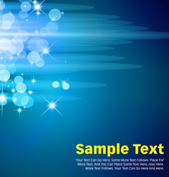 Circles Background Blue vector image