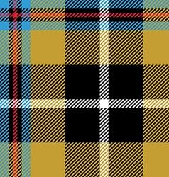 Cornish tartan seamless pattern fabric texture vector