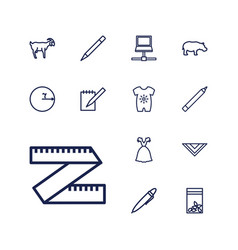 Drawing icons vector