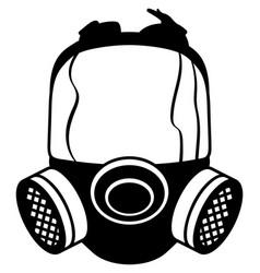 Gas mask eps vector