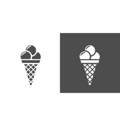 Icecream icon vector