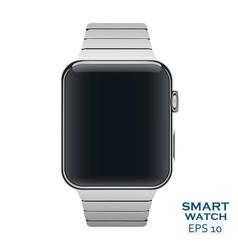 Icon of aluminium metal steel Smart vector