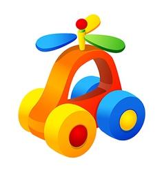 Icon toy car vector