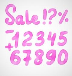Sale kit vector image