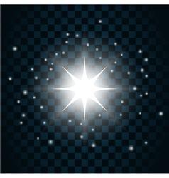 Shine star sparkle icon 12 vector