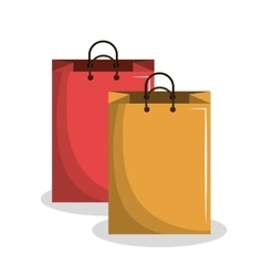 shopping bags design vector image