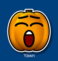 Yawn vector image vector image