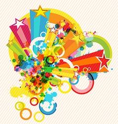 festival decoration background vector image