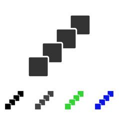 Blockchain flat icon vector