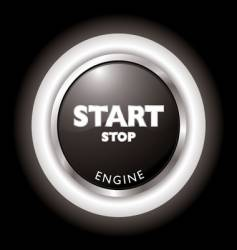 engine start vector image