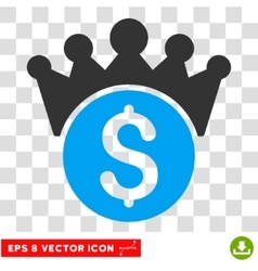 Financial Power Eps Icon vector image