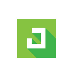 initial letter j logo icon design combined with g vector image