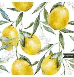 Lemon pattern7 vector image