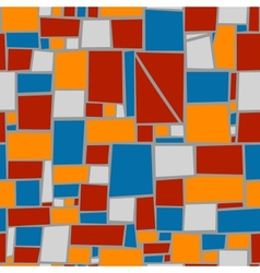 Seamless tile background vector image