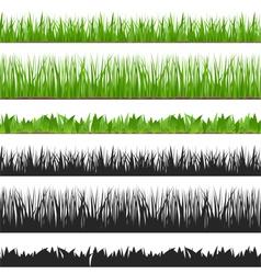Seamless Grass vector image vector image