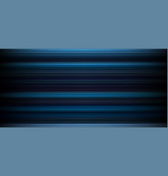 Abstract dark blue background with horizontal vector