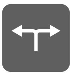 Bifurcation Arrows Left Right Flat Squared vector