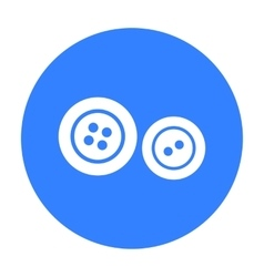 Buttons icon of for web and vector image