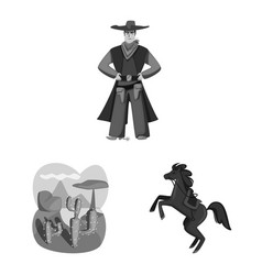 Design ranch and farm symbol collection vector