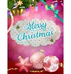 Elegant christmas background EPS 10 vector