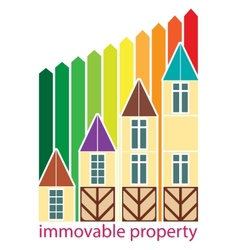 immovable property vector image