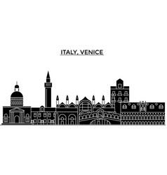 Italy venice architecture city skyline vector
