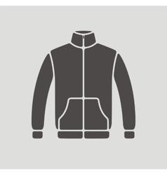 Sport jacket icon vector