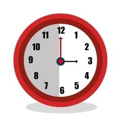 Time clock design vector