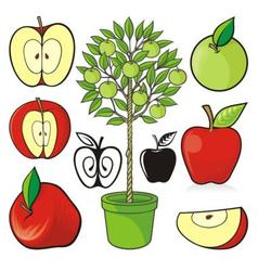 apple icons 02 vector image