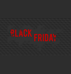 abstract black friday sale layout background for vector image