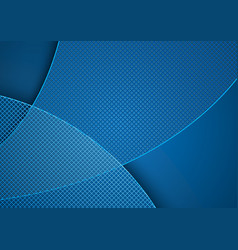 Blue abstract background and grid pattern vector
