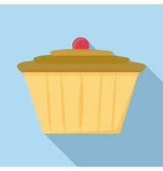 Cake icon flat style vector image