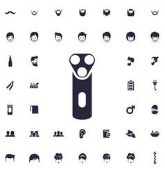 Electric shaver icon vector