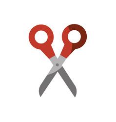 scissor tool icon vector image