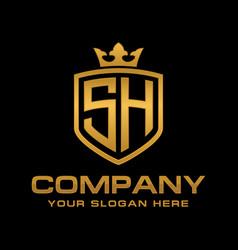 Sh logo vector