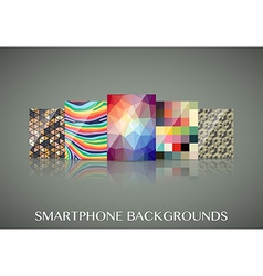 Smartphone wallpapers vector image