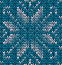 christmas seamless knitting background eps 10 vector image