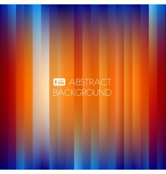 Blue-Orange Abstract Striped Background vector image vector image