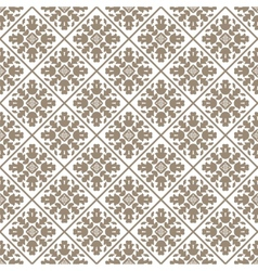 Seamless charcoal small floral elements wallpaper vector image vector image