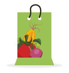vegetables shopping sale offer vector image