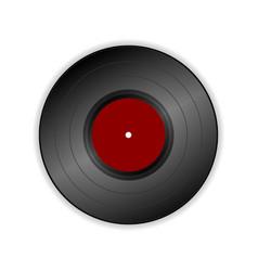 vinyl record icon vector image