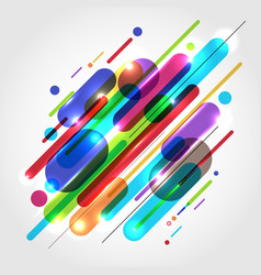 abstract motion dynamic composition made of vector image