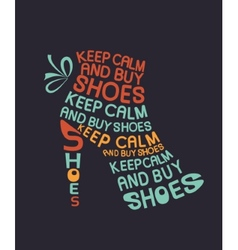 Boot from quotes vector image