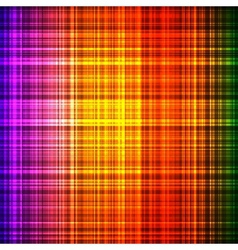 Colorful shiny checked background vector