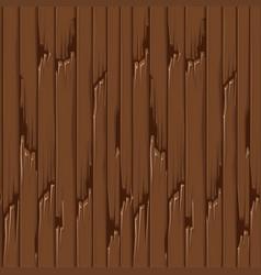 seamless textured old wood floor brown wallpaper vector image
