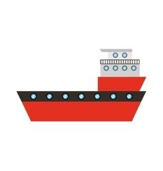 Ship cargo delivery service vector