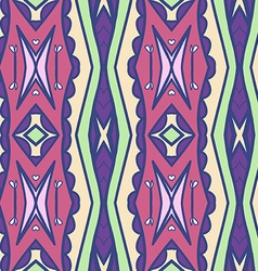 Abstract seamless ornament pattern the vector image