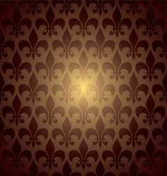 symbol repeat brown vector image vector image