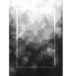 Abstract background gray frame Geometric vector
