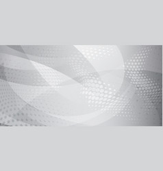 Abstract background halftone dots and curved vector